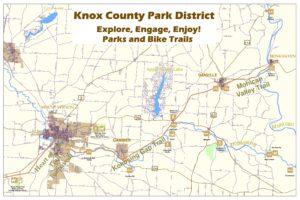 Park District Large Format Map Knox County Park District - Map a list of addresses